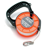 BOSS EQUIPMENT DIVERS REEL & CORD 150FT - REEL SEA BEACH