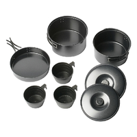 VANGO NON STICK COOK KIT SS - MULTIPLE SIZES - COOKING PANS POTS CUPS CAMPING
