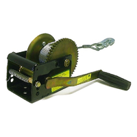 JARRETT STANDARD WINCH 5:1 - 6M X 5MM CABLE & SNAP HOOK (WB-F10216) CAMPING BOAT