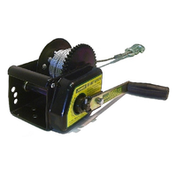 JARRETT BRAKE WINCH 3:1 - 7.5M X 5MM CABLE & SNAP HOOK (WB-F18210) TRAILER