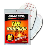 GRABBER TOE WARMERS - 6+ HOURS OF WARMTH - 2 PER PACK - (GPW-TWES)