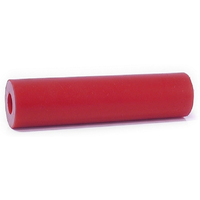 ANSCO PARALLEL / BILGE BOAT ROLLER - POLYURETHANE - RED - MULTIPLE SIZES