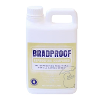 BRADMILL BRADPROOF WATERPROOFER 2L OR 5L - AQUEOUS BASED