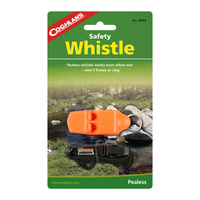 COGHLANS SAFETY WHISTLE - PLASTIC - PEALESS WHISTLE WORKS WHEN WET (COG 0844)