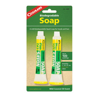 COGHLANS SPORTSMANS SOAP - PACK OF 2 - BIODEGRADABLE LIQUID SOAP (COG 50BP)