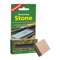 COGHLANS SHARPENING STONE - COARSE AND FINE GRIT STONE IN A POUCH (COG 7945)