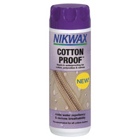 NIKWAX COTTON PROOF WASH-IN WATER PROOFING FOR COTTON, POLYCOTTON & CANVAS
