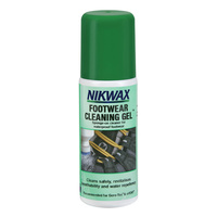 NIKWAX FOOTWEAR CLEANING GEL 125ml - SAFE FOR WATERPROOF/SPORTS SHOES (NIK GEL)