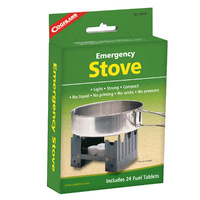 COGHLANS EMERGENCY STOVE - LIGHT / STRONG / COMPACT (COG 9560)
