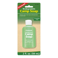 COGHLANS CAMP SOAP - 2OZ / 59ML - PERFECT FOR THE OUTDOORS (COG 9613)