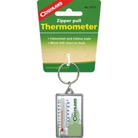 COGHLANS ZIPPER PULL THERMOMETER - FAHRENHEIT AND CELSIUS SCALES (COG 9712)