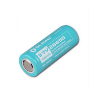 OLIGHT LITHIUM 3.7V LED TORCH BATTERY - OLIGHT S80 & R40 LED TORCHES (BAT-26650)