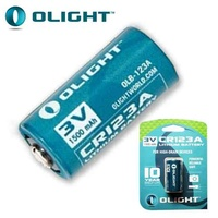 OLIGHT CR123A LITHIUM BATTERY 1500MAH - 10 YEAR SHELF LIFE (BAT-CR123-15)