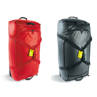 TATONKA FLIGHT ROLLER L 135L - RED OR BLACK - TRAVELPACK - PADDED BOTTOM