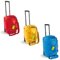TATONKA BARREL ROLLER M 60L - RED / LEMON / BLACK / BRIGHT BLUE - TRAVEL BAG