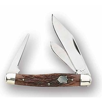 FURY 2 BLADE KNIFE WITH LEATHER PUNCH (51026) - 98mm CLOSED