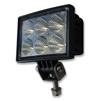 INNERCORE LED WORK LIGHT - SQUARE - CLEAR LENS - 18W - WATERPROOF (PW180)