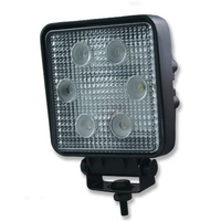 INNERCORE LED WORK LIGHT - SQUARE - CLEAR LENS - 18W - SUPER BRIGHT (PW18S)