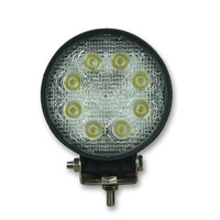 INNERCORE LED WORK LIGHT - ROUND - CLEAR LENS - 24W - SUPER BRIGHT (PW24R)