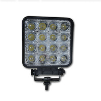 INNERCORE LED WORK LIGHT - SQUARE - CLEAR LENS - 48W - SUPER BRIGHT (PW48S)