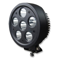 INNERCORE LED WORK LIGHT - ROUND - SHATTERPROOF - 60W - SUPER BRIGHT (PW606)