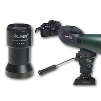 ALPEN CAMERA ADAPTOR FOR ALPEN RAINIER SPOTTING SCOPES (AA820)