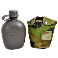 MUSTANG GI CANTEEN WITH CAMO COVER - 946ML CANTEEN (13624)