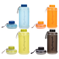 HYDRAPAK STASH 750ML - BLUE / ORANGE / LIME / SMOKE - COLLAPSIBLE