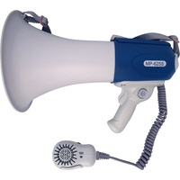 ALLIANCE MEGAPHONE 625S WITH MICROPHONE & SIREN - 25W MEGAPHONE (ATM625)