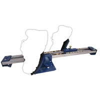 ALLIANCE STANDARD STARTING BLOCK - BLUE - STAINLESS STEEL SPINE (ATSBS)