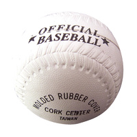 CHAMPRO 9″ T-BALL - CORK CENTRE - MOULDED RUBBER COVER (BACBLR9CRP)