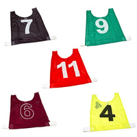 EAGLE SPORTS MESH TRAINING BIB SETS - SET OF 10 - MULTIPLE COLOURS AVAILABLE