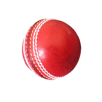 BAS AUTOGRAPH CRICKET BALL - RED -  IDEAL FOR SIGNATURES (CBBLA)