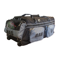 BAS CRICKET PLAYERS BAG - STRONG BASE WITH WHEELS FOR EASY PORTABILITY (CBBPW)