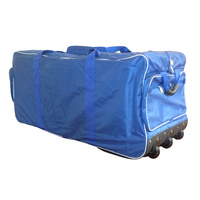 BAS JUMBO CRICKET KIT BAG - KIT WHEELIE BAG WITH 3 WHEELS - SHOULDER STRAPS (CBBJK)