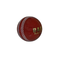 BAS CLASSIC PVC HARD CORK CENTRE CRICKET BALL - AVAILABLE MULTIPLE COLOURS