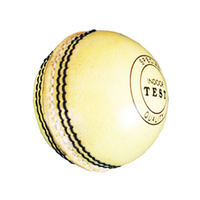 BAS SUPER INDOOR CRICKET BALL - POLY CENTRE - TRADITIONAL LEATHER BALL (CBIBL)