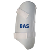 BAS PLAYER CRICKET THIGH GUARD - HDF - GENUINE LEATHER COMFORT - RH / LH