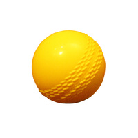 ALLIANCE PLASTIC BALL - SOFT POLY BALL - YELLOW - DURABLE - SMALL / LARGE