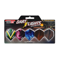 ONE80 DART FLIGHT PACK - INCLUDES 5 SETS OF FLIGHTS (DA180FFP)