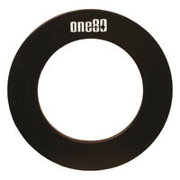 ONE80 DARTBOARD SURROUND - ONE80 LOGO ON THE TOP - BLACK / ROYAL