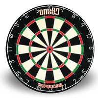 ONE80 TOP SCORE DARTBOARD - STAPLE FREE BULLSEYE - HIGH QUALITY (DA180BPTS)