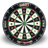 ONE80 DOT TRAINER DARTBOARD - STAPLE FREE BULLSEYE - HIGH QUALITY (DA180BDT)