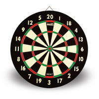 ONE80 MERIT PAPER DARTBOARD - INCLUDES 6 DARTS - HIGH QUALITY (DA180BM)