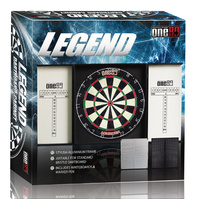 ONE80 LEGEND PROFESSIONAL DART SET - BRISTLE DARTBOARD (DA180LADS)