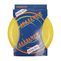 ALLIANCE FRISBEE - 24CM / 120GM - BOXED - FUN FOR ALL AGES (SCF)