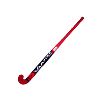 BAS VAMPIRE EXPLODER WOODEN HOCKEY STICK - RED - MULTIPLE SIZES AVAILABLE