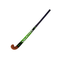 BAS VAMPIRE BLASTER WOODEN HOCKEY STICK - GREEN - MULTIPLE SIZES AVAILABLE