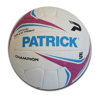 PATRICK CHAMPION NETBALL - OFFICIAL SIZE AND WEIGHT - SIZE 5 (NPBLCH15)