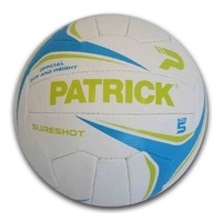 PATRICK SURESHOT NETBALL - OFFICIAL SIZE AND WEIGHT - SIZES 4 / 5